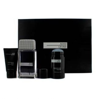 ADAM LEVINE ADAM LEVINE COFFRET 3PCS GIFT SET FOR MEN
