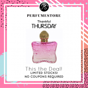 ANNA SUI ROMANTICA EDT FOR WOMEN [THANKFUL THURSDAY SPECIAL]