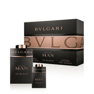 BVLGARI MAN IN BLACK EDT 2 PCS GIFT SET FOR MEN