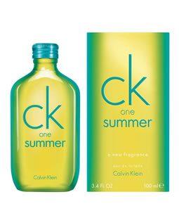CALVIN KLEIN CK ONE SUMMER 2014 EDT FOR UNISEX
