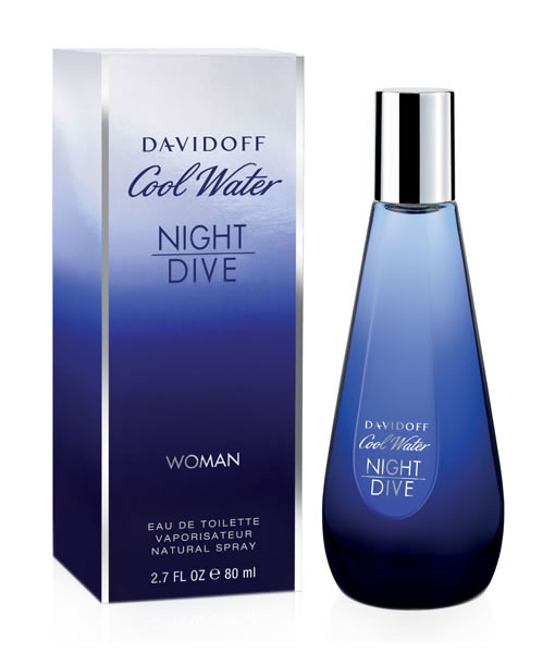 DAVIDOFF COOL WATER NIGHT DIVE EDT FOR WOMEN