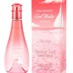 DAVIDOFF COOL WATER SEA ROSE SUMMER SEAS LIMITED EDITION EDT FOR WOMEN