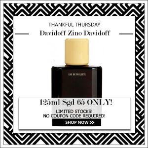 DAVIDOFF ZINO DAVIDOFF EDT FOR MEN 125ML [THANKFUL THURSDAY SPECIAL]