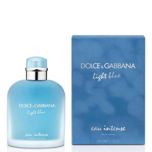 DOLCE & GABBANA D&G LIGHT BLUE EAU INTENSE EDP FOR MEN