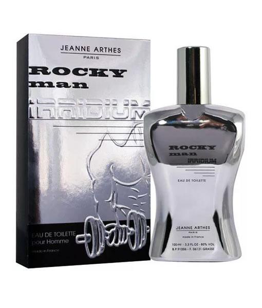 JEANNE ARTHES ROCKY MAN IRRIDIUM EDT FOR MEN