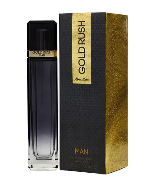 PARIS HILTON GOLD RUSH MAN EDT FOR MEN