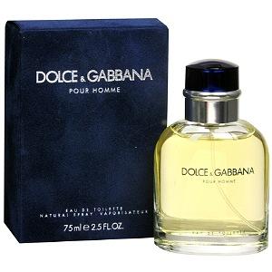 DOLCE & GABBANA D&G POUR HOMME EDT FOR MEN