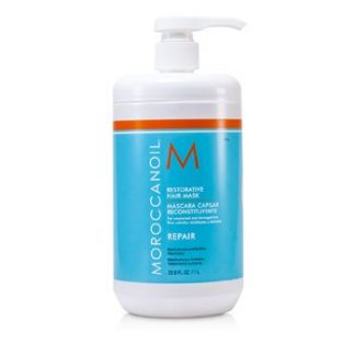 MOROCCANOIL RESTORATIVE HAIR MASK - FOR WEAKENED AND DAMAGED HAIR (SALON PRODUCT)  1000ML/33.8OZ