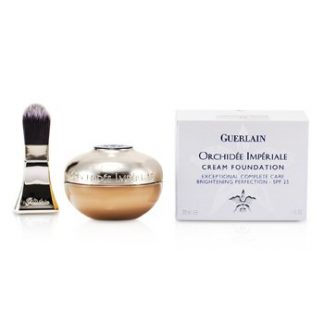 GUERLAIN ORCHIDEE IMPERIALE CREAM FOUNDATION BRIGHTENING PERFECTION SPF 25 - # 03 BEIGE NATUREL  30ML/1OZ