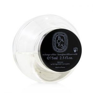 DIPTYQUE HOURGLASS DIFFUSER REFILL - BAIES  75ML/2.5OZ