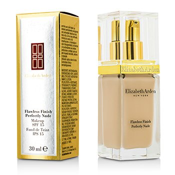 ELIZABETH ARDEN FLAWLESS FINISH PERFECTLY NUDE MAKEUP SPF 15 - # 02 ALABASTER  30ML/1OZ