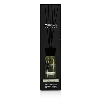 MILLEFIORI NATURAL FRAGRANCE DIFFUSER - WHITE MUSK / MUSCHIO BIANCO  250ML/8.45OZ