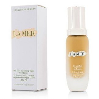 LA MER THE SOFT FLUID LONG WEAR FOUNDATION SPF 20 - # 42 TAN  30ML/1OZ