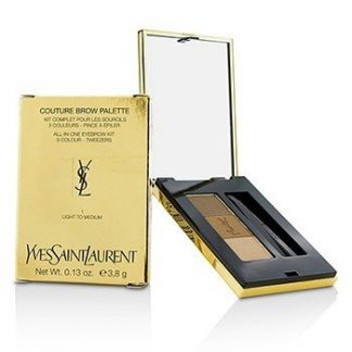 YVES SAINT LAURENT COUTURE BROW PALETTE - #1 LIGHT TO MEDIUM  3.8G/0.13OZ