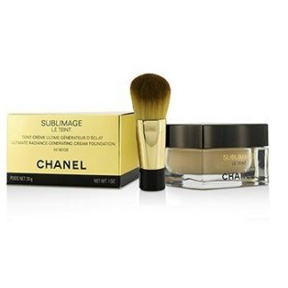 CHANEL SUBLIMAGE LE TEINT ULTIMATE RADIANCE GENERATING CREAM FOUNDATION - # 20 BEIGE  30G/1OZ