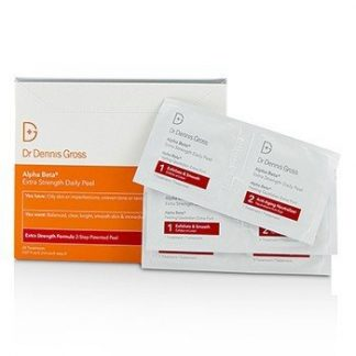 DR DENNIS GROSS ALPHA BETA EXTRA STRENGTH DAILY PEEL  60 TREATMENTS