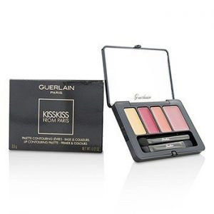 GUERLAIN KISSKISS FROM PARIS LIP CONTOURING PALETTE - # 002 ROMANTIC KISS  3.5G/0.12OZ