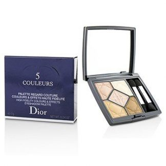 CHRISTIAN DIOR 5 COULEURS HIGH FIDELITY COLORS & EFFECTS EYESHADOW PALETTE - # 537 TOUCH MATTE  7G/0.24OZ