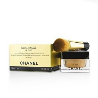 CHANEL SUBLIMAGE LE TEINT ULTIMATE RADIANCE GENERATING CREAM FOUNDATION - # 50 BEIGE  30G/1OZ