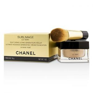 CHANEL SUBLIMAGE LE TEINT ULTIMATE RADIANCE GENERATING CREAM FOUNDATION - # 32 BEIGE ROSE  30G/1OZ