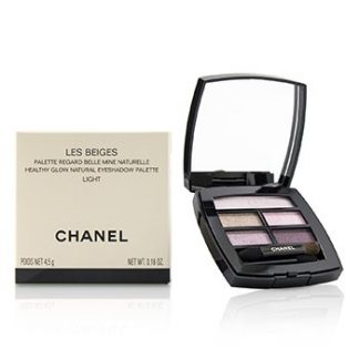 CHANEL LES BEIGES HEALTHY GLOW NATURAL EYESHADOW PALETTE - # LIGHT  4.5G/0.16OZ