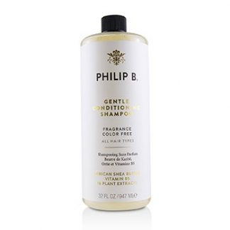 PHILIP B GENTLE CONDITIONING SHAMPOO (FRAGRANCE COLOR FREE - ALL HAIR TYPES)  947ML/32OZ