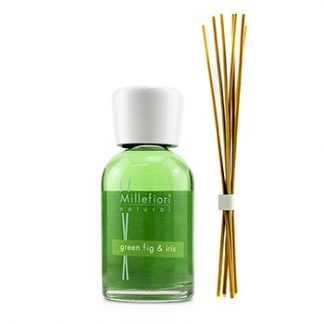 MILLEFIORI NATURAL FRAGRANCE DIFFUSER - GREEN FIG & IRIS  250ML/8.45OZ