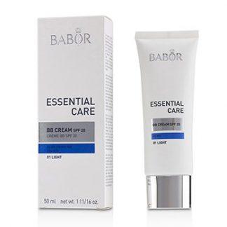 BABOR ESSENTIAL CARE BB CREAM SPF 20 (FOR DRY SKIN) - # 01 LIGHT  50ML/1.7OZ