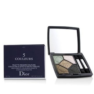 CHRISTIAN DIOR 5 COULEURS HIGH FIDELITY COLORS & EFFECTS EYESHADOW PALETTE - # 457 FASCINATE  7G/0.24OZ