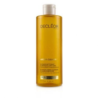 DECLEOR AROMA CLEANSE BI-PHASE CARING CLEANSER & MAKEUP REMOVER (SALON SIZE)  400ML/13.5OZ