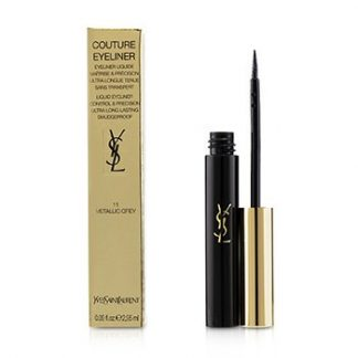 YVES SAINT LAURENT COUTURE LIQUID EYELINER - # 11 METALLIC GREY  2.95ML/0.09OZ