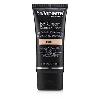 BELLAPIERRE COSMETICS DERMA RENEW BB CREAM SPF 15 - # FAIR  40ML/1.5OZ