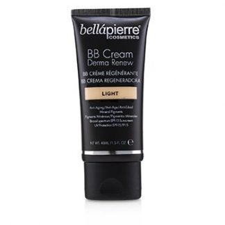BELLAPIERRE COSMETICS DERMA RENEW BB CREAM SPF 15 - # LIGHT  40ML/1.5OZ