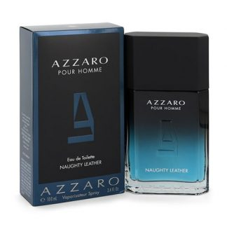 AZZARO NAUGHTY LEATHER POUR HOMME EDT FOR MEN