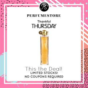 GIVENCHY ORGANZA EDP FOR WOMEN 50ML TESTER [THANKFUL THURSDAY SPECIAL]