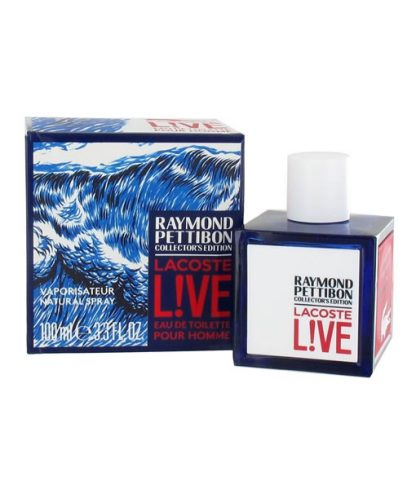 LACOSTE LIVE RAYMOND PETTIBON COLLECTOR'S EDITION EDT FOR MEN