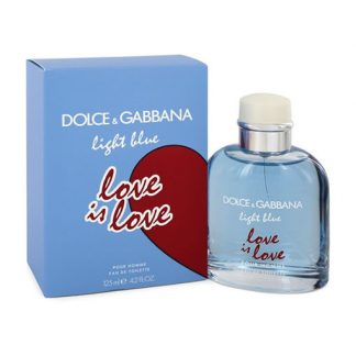 DOLCE AND GABBANA D&G LIGHT BLUE LOVE IS LOVE POUR HOMME EDT FOR MEN
