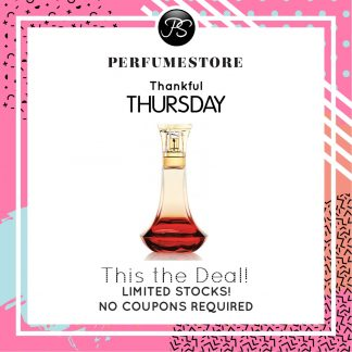 BEYONCE HEAT EDP FOR WOMEN 100ML [THANKFUL THURSDAY SPECIAL]