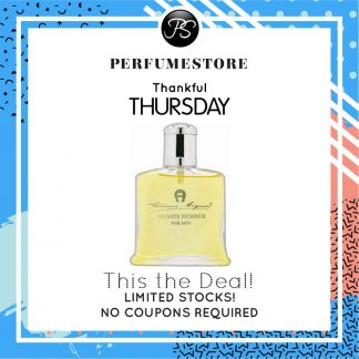 ETIENNE AIGNER PRIVATE NUMBER EDT FOR MEN 100ML [THANKFUL THURSDAY SPECIAL]