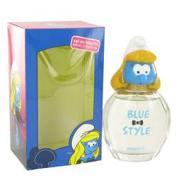 SMURFS THE SMURFS BLUE STYLE SMURFETTE EDT FOR WOMEN